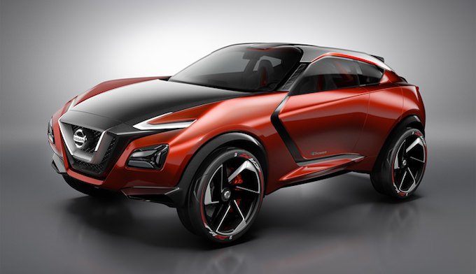 Nissan Gripz Conceptのフロントビュー