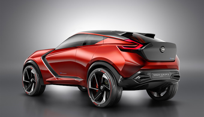 Nissan Gripz Conceptのリアビュー