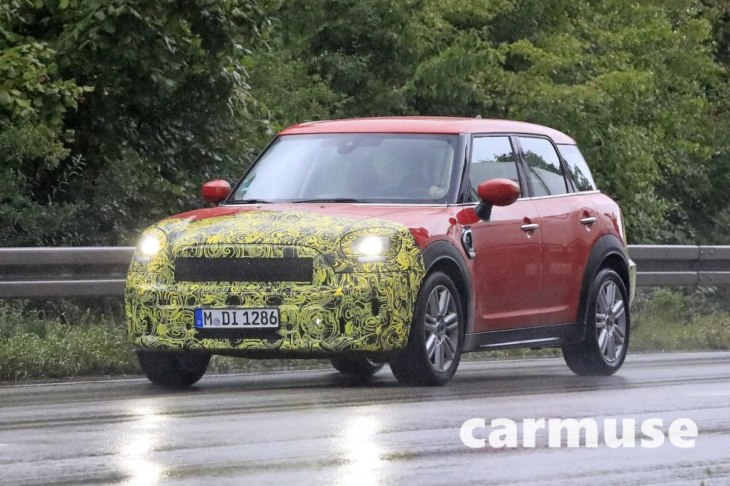 mini countryman crossover low down photo