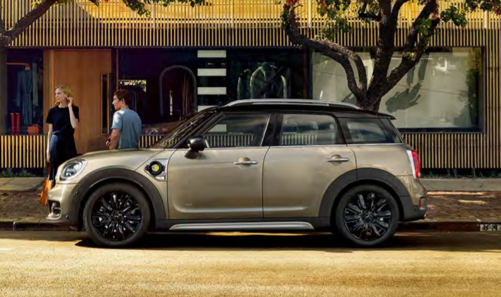 current mini countryman crossover side photo