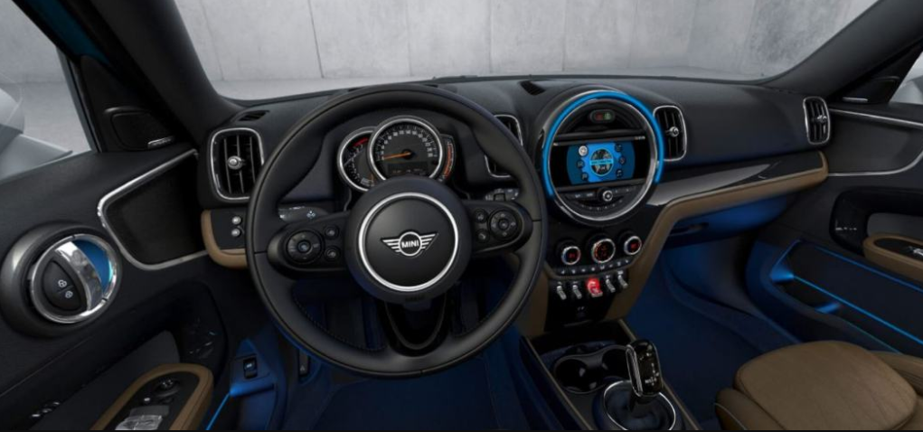 current mini countryman interior photo