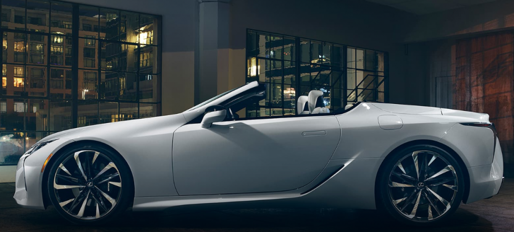 lexus convertible concept side photo-3