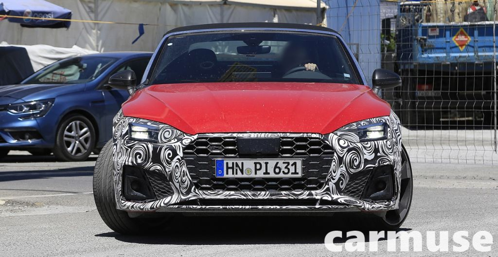 Audi S5 cabriolet front photo