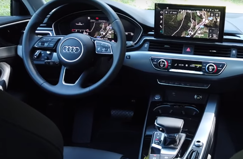 new audi a4 interior photo