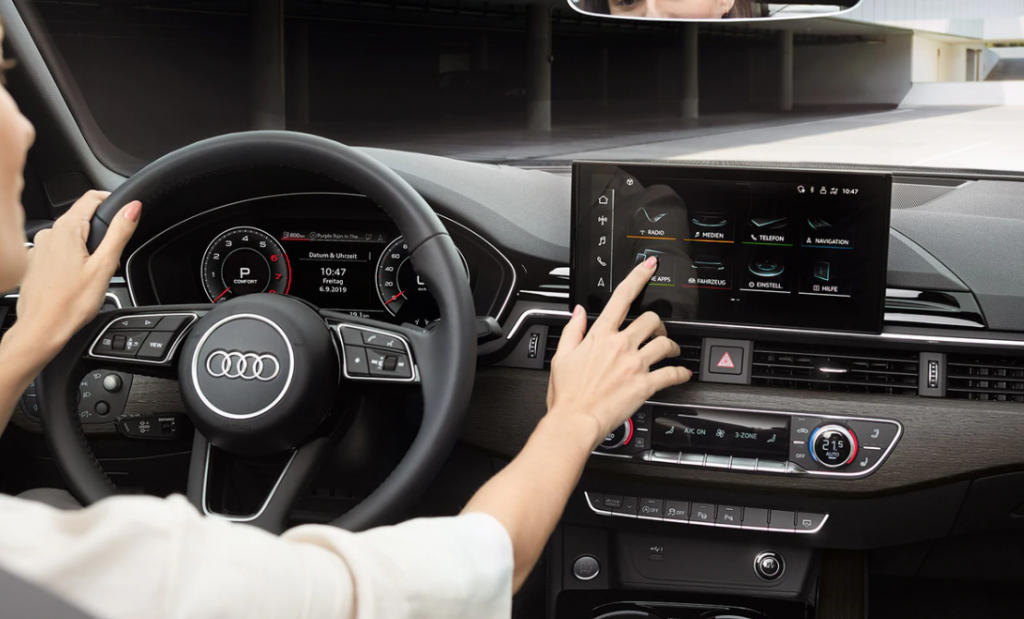 new audi a5 cabriolet interior photo