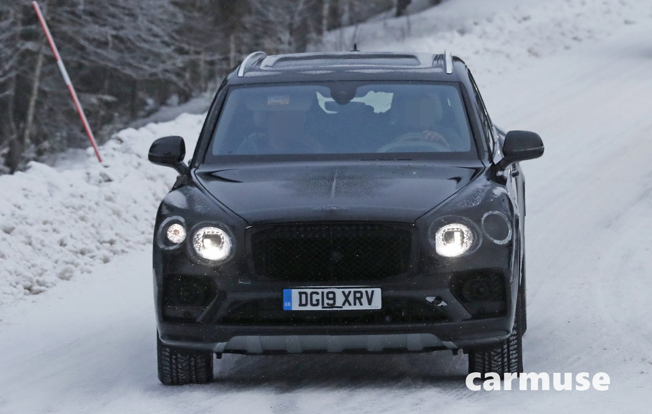 Bentley Bentayga facelift winter 1