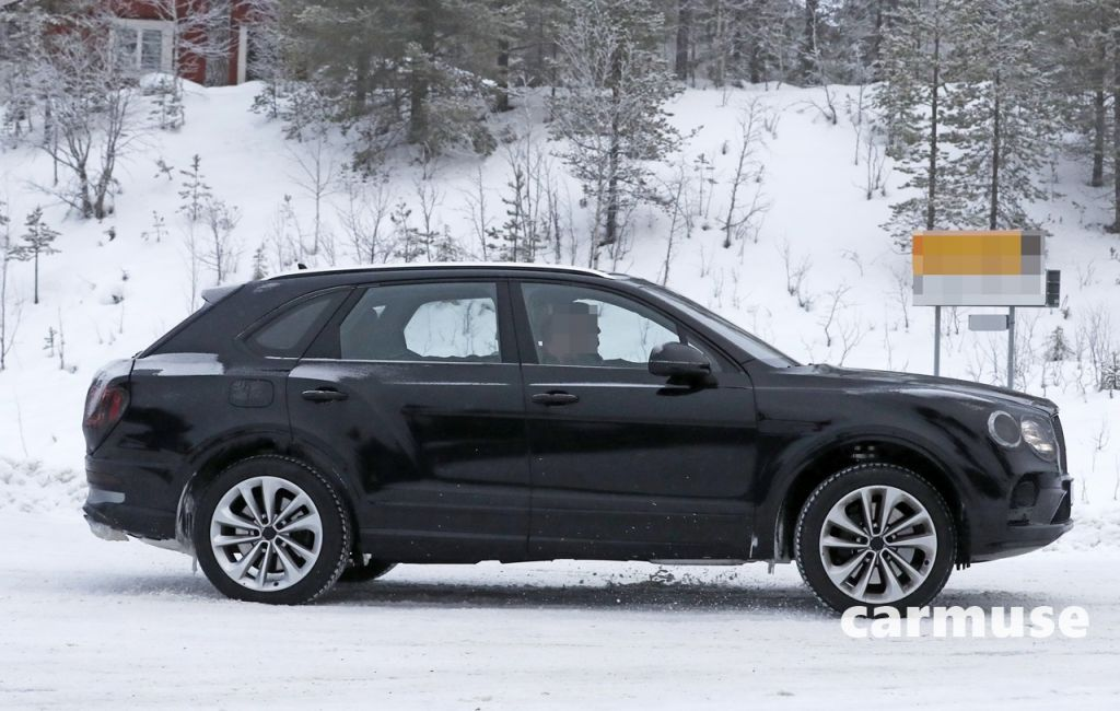 Bentley Bentayga facelift winter 5